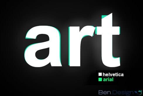 Logos mit Helvetica