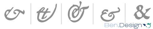 Ampersand Varianten