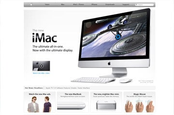 Webdesign Apple