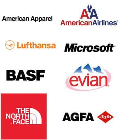 Logodesign mit Helvetica