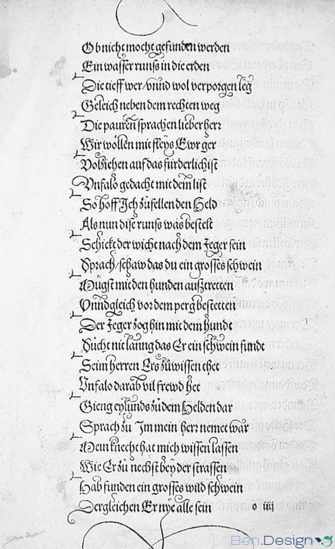 Theuerdank, 1517, Nürnberg